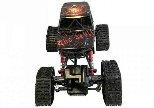 Auto Zdalnie Sterowane Terenowe R/C Czerwony 4x4