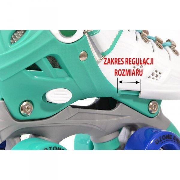 Łyżworolki wrotki regulowane dla dzieci  2w1 Enero Ozone r.31-34