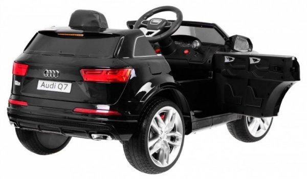 Auto na akumulator Audi Q7 2.4G New Model Lakierowany Czarny