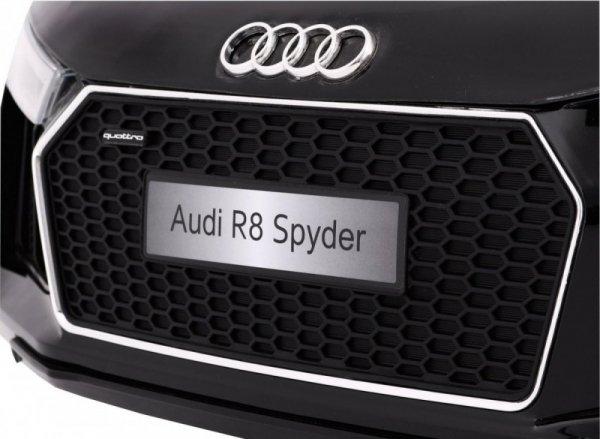 Auto na akumulator AUDI R8 Spyder RS EVA 2.4G Czarny