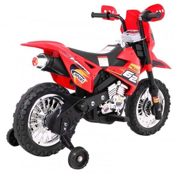 Motor na akumulator dla dzieci CROSS Czerwony
