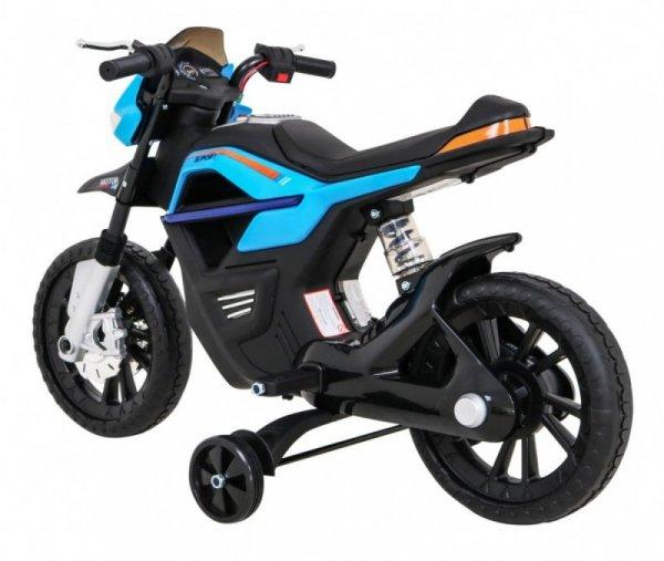 Motor na akumulator dla dzieci Night Rider Niebieski