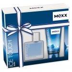 ZESTAW MEXX Ice Touch Man woda toaletowa dla mężczyzn 30ml + żel pod prysznic 50ml
