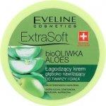 EVELINE Extra Soft Body Crem łagodzący krem głęboko nawilżający do twarzy i ciała bio oliwka i aloes 175ml