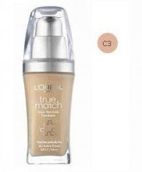 L'OREAL True Match Foundation kosmetyki damskie - podkład do twarzy C3 Rose Beige 30ml