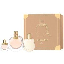 ZESTAW CHLOE Nomade woda perfumowana dla kobiet 75ml + miniatura EDP spray 5ml + balsam do ciała 100ml