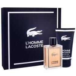 ZESTAW LACOSTE L'Homme Lacoste woda toaletowa dla mężczyzn 100ml + żel pod prysznic 150ml