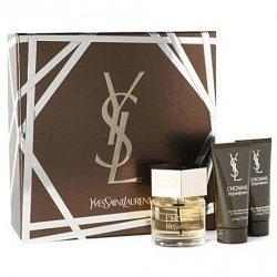 ZESTAW YVES SAINT LAURENT L'Homme perfumy męskie - woda toaletowa 60ml + balsam po goleniu 50ml + żel pod prysznic 50ml