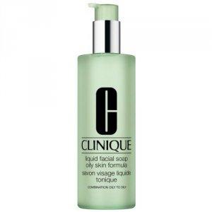 CLINIQUE Liquid Facial Soap Oily mydło dla kobiet w płynie do twarzy 200ml