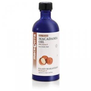 MACROVITA OLEJEK MAKADAMIA w naturalnych olejach tłoczony na zimno z witaminą E 100ml