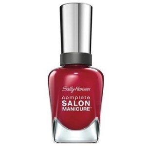 SALLY HANSEN complete SALON MANICURE lakier do paznokci 14,7ml (575 Red Handed)