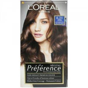 L'OREAL Recital Preference farba do włosów 6.21 Opera