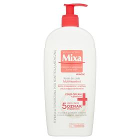 MIXA Intensywna Pielęgnacja Suchej Skóry krem do ciała multi-komfort skóra przesuszona i wrażliwa 400ml
