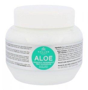 KALLOS COSMETICS Aloe Vera regenerująca maska do włosów zniszczonych dla kobiet 275ml