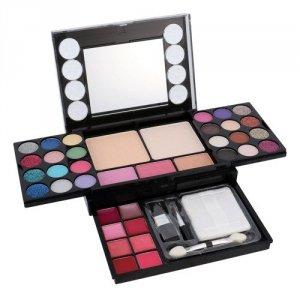 ZESTAW MAKEUP TRADING Diamonds - 13,44g Eyeshadows + 4,8g Blush + 14,4g Face Powder + 3,2g Lipgloss