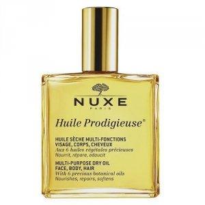 NUXE Huile Prodigieuse Multi Purpose Dry Oil Face Body Hair pielęgnujący suchy olejek do twarzy, ciała i włosów 100ml