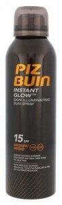 PIZ BUIN Instant Glow Spray SPF15 wodoodporny preparat do opalania ciała dla kobiet 150ml