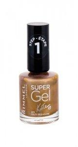 RIMMEL LONDON Super Gel By Kate STEP1 lakier do paznokci dla kobiet 12ml (071 Guilty Pleasure)