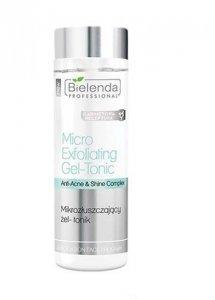 BIELENDA PROFESSIONAL Exfoliaton Face Program Micro Exfoliating Gel tonic mikrozłuszczający żel-tonik 200g