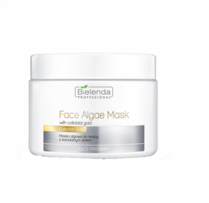 BIELENDA PROFESSIONAL Face Program Face Algae Mask With Colloidal Gold maska algowa do twarzy z Koloidalnym Złotem 190g
