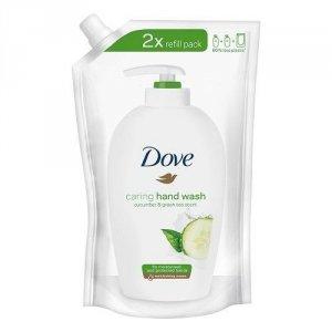 DOVE Caring Hand Wash pielęgnujące mydło w płynie Cucumber & Green Tea Scent Refill 500ml