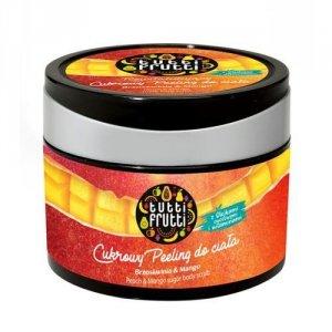 FARMONA Tutti Frutti rewitalizujący cukrowy peeling do ciała Brzoskwinia & Mango 300g