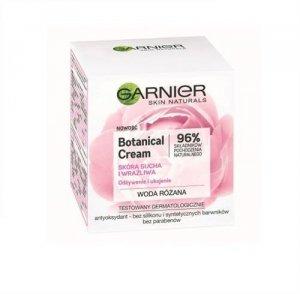 GARNIER Botanical Cream odżywczy krem dla skóry suchej i wrażliwej Woda Różana 50ml