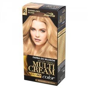 JOANNA Multi Cream Color farba do włosów 30 Karmelowy Blond