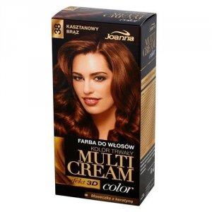 JOANNA Multi Cream Color farba do włosów 38 Kasztanowy Brąz