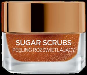 L'OREAL Sugar Scrubs peeling rozświetlający do twarzy 50ml