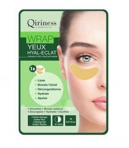 QIRINESS Wrap Yeux Hyal-Eclat maska rozświetlajaca pod oczy 2g