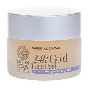 SIBERICA PROFESSIONAL Fresh Spa Imperial Caviar 24k Gold Face Peel złoty peeling odmładzający do twarzy 24 karatowe złoto 50ml