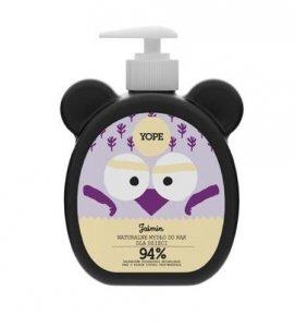 YOPE Naturalne mydło do rąk dla dzieci Jaśmin 400ml