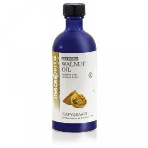 MACROVITA OLEJEK Z BIO-ORZECHÓW WŁOSKICH w naturalnych olejach tłoczony na zimno z witaminą E 100ml