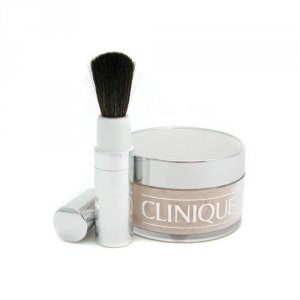 CLINIQUE Face Powder And Brush Blended puder sypki dla kobiet 35g (04 Transparency)