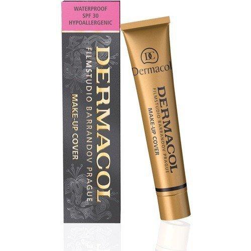 DERMACOL Make-Up Cover SPF30 wodoodporny podkład mocno kryjący dla kobiet 30g (odcień 221)