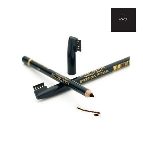 MAX FACTOR Eyebrow Pencil kredka do brwi 1 Ebony