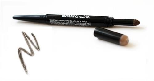 MAYBELLINE Brow Satin Duo Pencil kredka do brwi Dark Brown