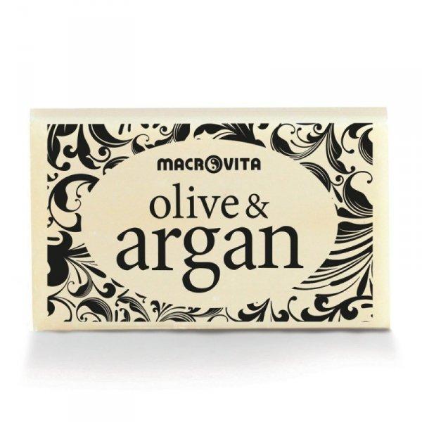 MACROVITA OLIVE & ARGAN mydło z oliwą z oliwek i olejkiem arganowym 50g