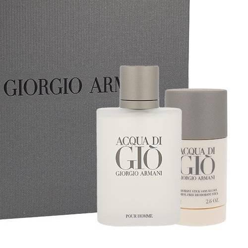 ZESTAW GIORGIO ARMANI Acqua di Gio Pour Homme woda toaletowa dla mężczyzn 100ml + dezodorant w sztyfcie 75ml
