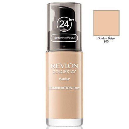 REVLON Colorstay Makeup Combination Oily Skin podkład do twarzy do skóry tłustej i mieszanej 30ml (300 Golden Beige)