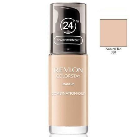 REVLON Colorstay Makeup Combination Oily Skin podkład do twarzy do skóry tłustej i mieszanej 30ml (330 Natural Tan)