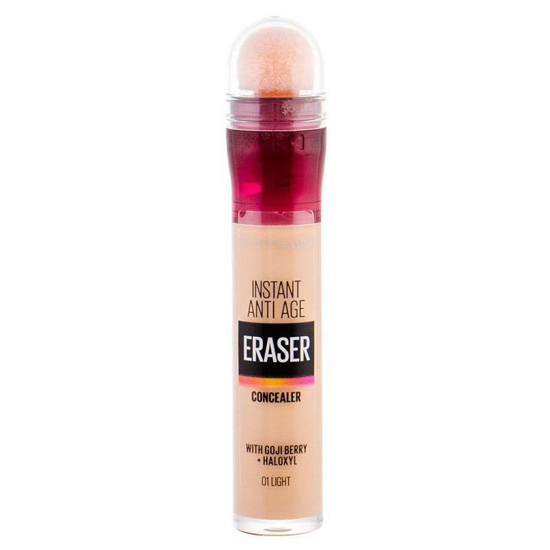 MAYBELLINE Instant Anti Age Eraser Concealer korektor pod oczy 6,8ml (01 Light)