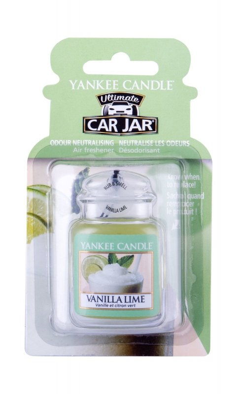 Yankee Candle Vanilla Lime (Zapach samochodowy, U, 1szt)