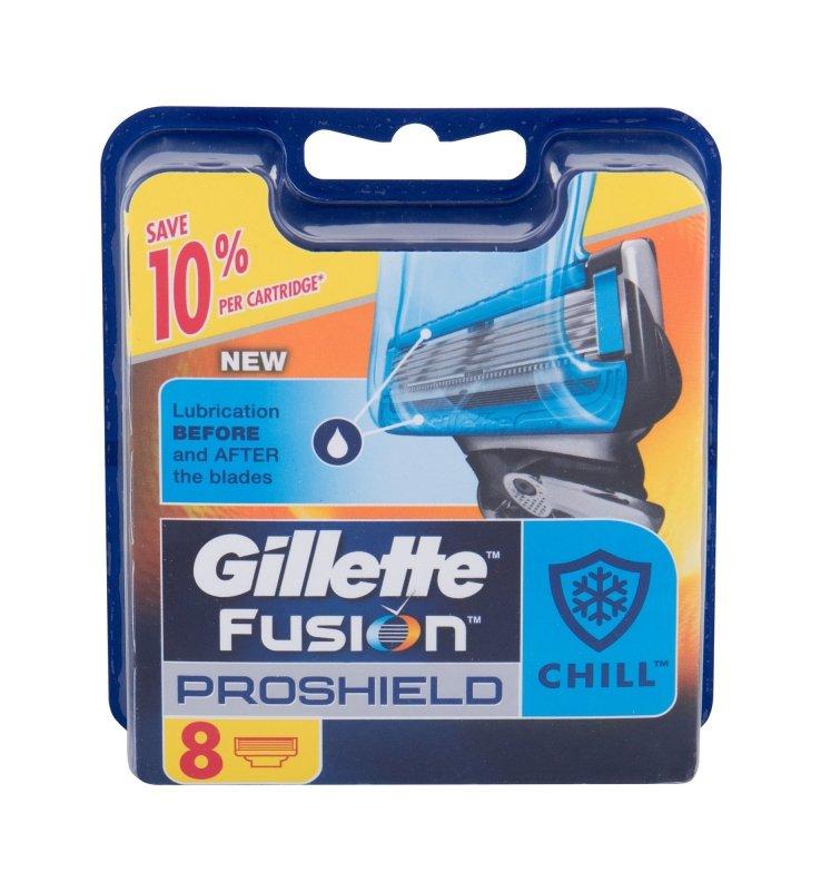 Gillette Fusion Proshield (Wkład do maszynki, M, 8szt)