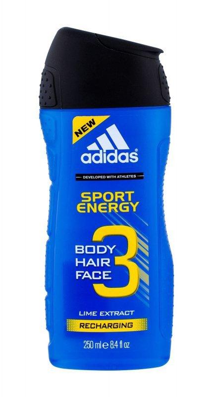Adidas 3in1 (Żel pod prysznic, M, 250ml)