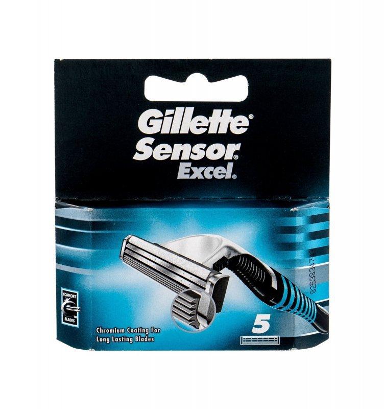 Gillette Sensor (Wkład do maszynki, M, 5szt)