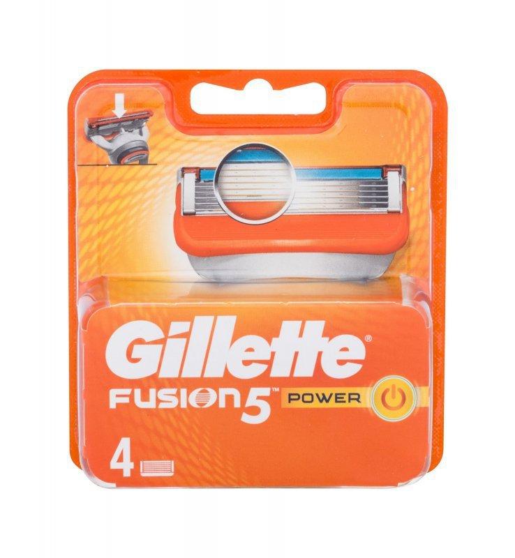 Gillette Fusion (Wkład do maszynki, M, 4szt)