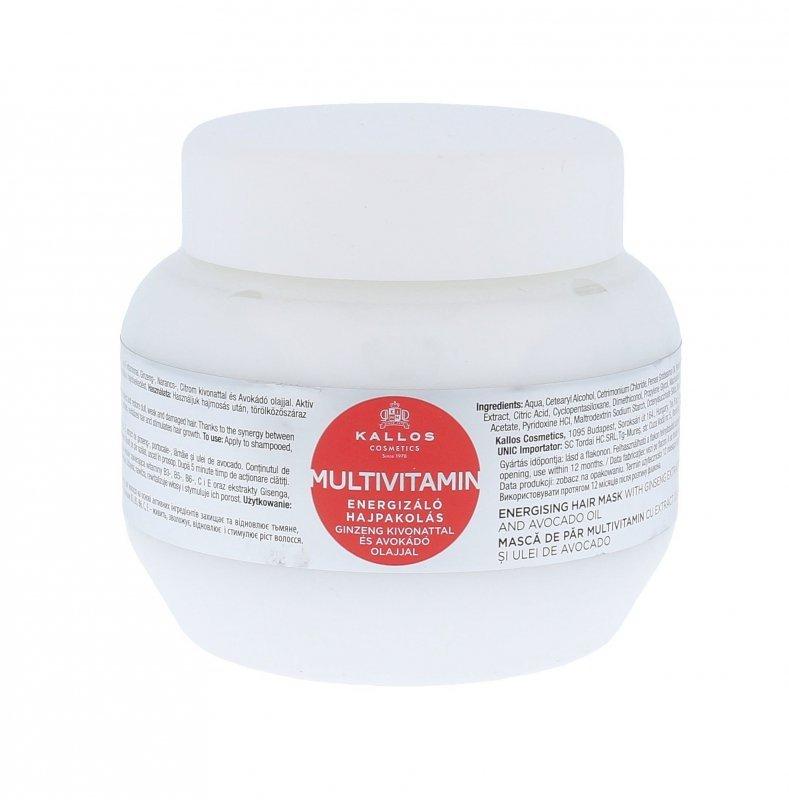 Kallos Cosmetics Multivitamin (Maska do włosów, W, 275ml)