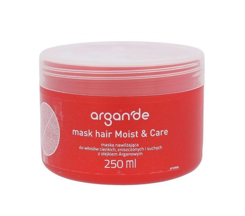 Stapiz Argan De Moist & Care (Maska do włosów, W, 250ml)